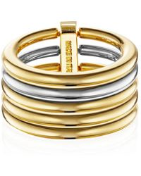 Vita Fede - Sophia Stacked Band Ring - Lyst