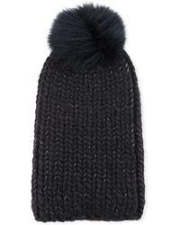 Eugenia Kim - Rain Fur-pompom Beanie Hat - Lyst