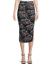 Diane von Furstenberg - Side Cinch Skirt - Lyst