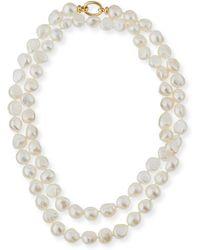 Grazia And Marica Vozza - Baroque Pearl Necklace - Lyst