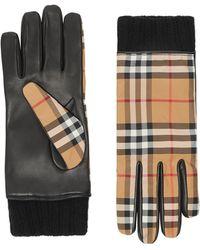 Burberry - Men's Rib Gloves - Lyst
