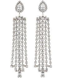 DANNIJO - Sade Crystal Statement Earrings - Lyst