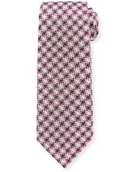 Tom Ford - Exploded Houndstooth Silk Tie - Lyst