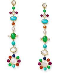 Ippolita - Nova 18k Pearl & Mixed-stone Drop Earrings - Lyst