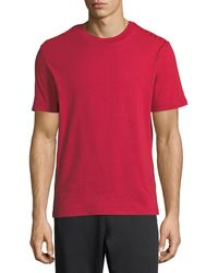 Valentino - Solid Jersey T-shirt - Lyst
