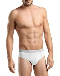 Hanro - Cotton-stretch Briefs Two-pack - Lyst