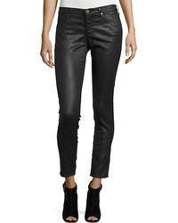 AG Jeans - Vinte Leatherette Ankle Leggings - Lyst