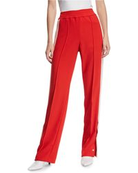Pinko Snap-up Racer Stripe Track Trousers