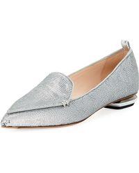 Nicholas Kirkwood - Beya Sequined Loafer Flat - Lyst