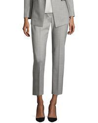 Theory - Treeca Cl. Continuous Cropped Pants - Lyst