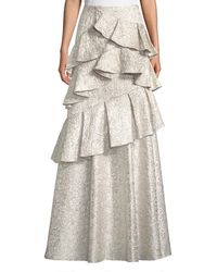 Alice + Olivia - Flossie Ruffle Tiered Ball Gown Skirt - Lyst