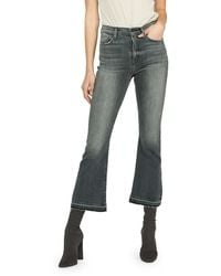 Hudson Jeans - Holly High-rise Cropped Flare Jeans - Lyst