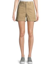 Vince - Mid-rise Utility Shorts - Lyst
