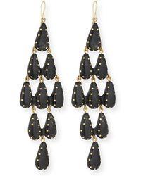 Ashley Pittman | Densi Chandelier Horn Earrings | Lyst