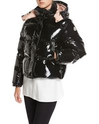 Moncler - Gaura Shiny Puffer Quilted Coat - Lyst
