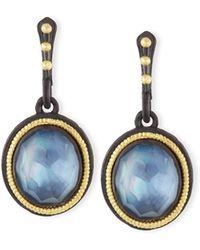 Armenta - Old World Triplet Oval Drop Earrings - Lyst
