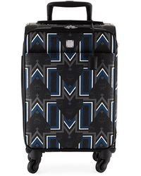 MCM - Traveler Gunta M Stripe Cabin Trolley In Visetos - Lyst