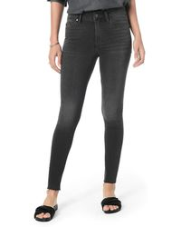 Joe's Jeans - The Charlie Ankle High-rise Skinny With Hidden Zipper - Lyst