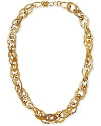 Ashley Pittman | Kamba Necklace Light Horn | Lyst