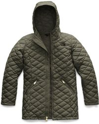 The North Face - Quilted Thermoball Hooded Parka - Lyst