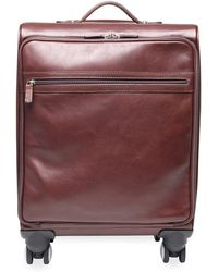 T. Anthony | Four-wheel Leather Carryon Bag | Lyst