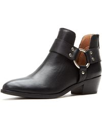Frye - Ray Leather Harness Booties - Lyst