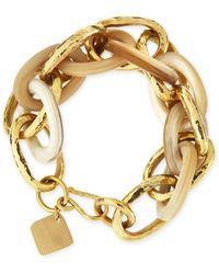 Ashley Pittman - Ndovu Light Horn & Bronze Bracelet - Lyst
