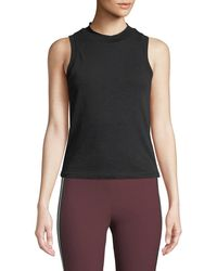 Rag & Bone - Jolie Cropped Cotton Tank Top - Lyst