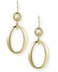 Ippolita - 18k Glamazon Short Oval Link Earrings - Lyst