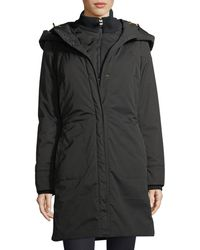Post Card - Alessami Hooded Insulated Parka Jacket - Lyst
