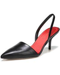 Diane von Furstenberg - Mortelle Slingback Leather Pumps - Lyst