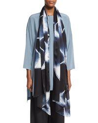 Eskandar - Hand-dyed Shibori Silk Scarf - Lyst