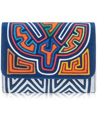 Mola Sasa - Inma Embroidered Clutch Bag - Lyst