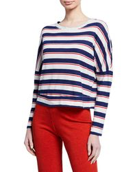 Sundry - Striped Easy Long-sleeve Top - Lyst