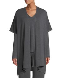 Natori - Cocoon Heathered Topper Jumper - Lyst