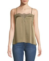 Cami NYC - The Sweetheart Charmeuse Cami With Lace - Lyst