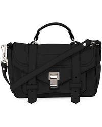 Proenza Schouler - Ps1 Tiny Leather Satchel Bag - Lyst