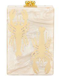Edie Parker - Carol Crayfish Acrylic Clutch Bag - Lyst