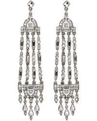 Ben-Amun - Multi-strand Crystal Drop Earrings - Lyst