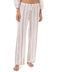 Melissa Odabash - Krissy Straight Cotton Trousers - Lyst