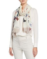 Valentino - Cashmere Butterfly Stole - Lyst