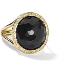 Ippolita - 18k Small Round Diamond Lollipop® Ring - Lyst