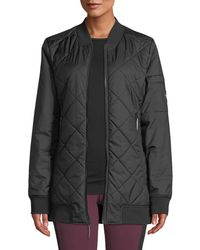 The North Face - Jester Reversible Quilted Zip-front Bomber Jacket - Lyst