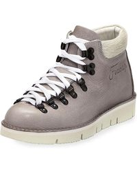 Fracap - Leather High-top Trainer - Lyst