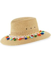 Eric Javits - Bahia Squishee Packable Sun Fedora Hat - Lyst