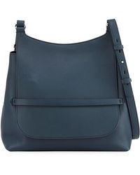 The Row - Sideby Smooth Calf Leather Crossbody Bag - Lyst