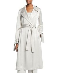 Alexis - Jocasta Belted Trench Coat - Lyst
