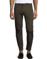 Lanvin - Cotton Biker Pants - Lyst