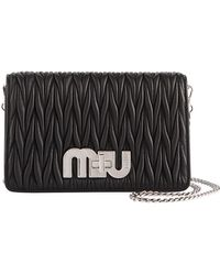 Miu Miu - Matellassé Leather Shoulder Bag - Lyst