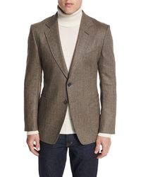Tom Ford - O'connor Base Herringbone Sport Jacket - Lyst